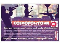 Cosmopolitown - Take part to our Local Events and make Global Friends!