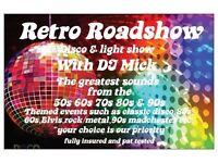 RETRO ROADSHOW DISCO & LIGHT SHOW