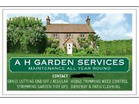 A H GARDEN SERVICES