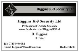 Higgins K-9 Security Ltd