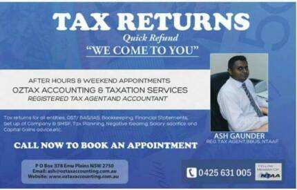 Oztax Accounting & Taxation Services Blacktown Blacktown Area Preview