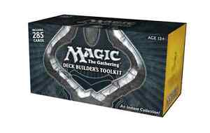 285 Cards Deck builder's Toolkit MTG M13 2013 inc. 4 Booster Packs Storage Box