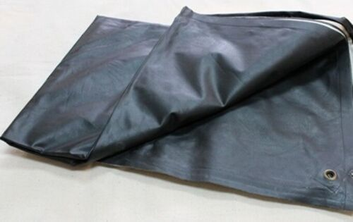 Civil War Reenactment Rubberized Rain Poncho with Grommets Brand New