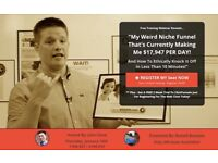 FREE WEBINAR - Would you like to copy a website that's currently making £17,947 PER DAY?