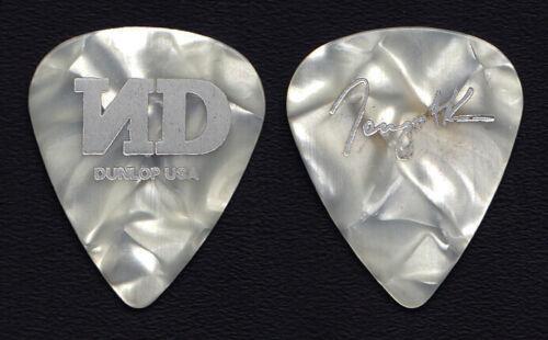 No Doubt Tony Kanal Signature White Pearl Guitar Pick - 2001 Rock Steady Tour