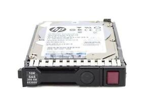 HP 300GB HARD DISK 6G 10K 2.5 SAS SC for G8 G9