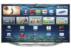 "60"" Samsung 1080p 240hz 3D LED Smart TV (UN60ES8000)"