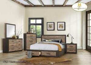 Queen Bedroom Set with Drawers in Bed on Grand Sale (BD-2325)