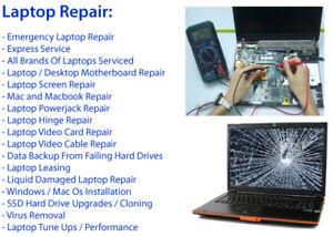 Computer repair,Fix,Laptop,Desktop,MAC,Windows,Data Recovery$30