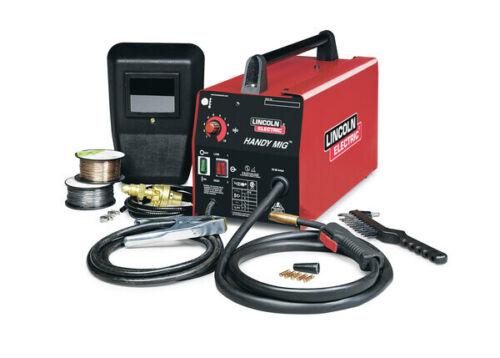 "Lincoln K2185-1 Handy Mig Welder Gas or No Gas 115V 88 Amp Welds to 1/8"" Steel"