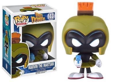 New Pop Animation  Duck Dodgers   Marvin The Martian 3 75  Funko Vinyl Vaulted