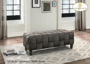 Dark gray Tweed fabric Bench - MA10 5873N-BH in Toronto Furniture Sale (BD-1448)
