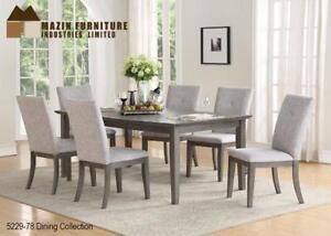 Wooden Dining set with 6 chairs (MA516)