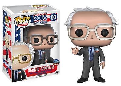 New Pop The Vote  Bernie Sanders 3 75  Funko Vinyl Collectible Vaulted