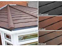 Tiled conservatory roofs from £2750