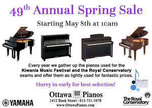 Final Week: Ottawa Pianos 49th Annual May Piano Sale