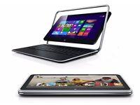 Dell XPS Duo TouchScreen, i7 core,8gb ram,256GB SSD, FHD 1080p,12.5 inch,ulrabook, Windows 10 Pro 13
