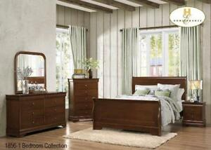 sleigh bed bedroom sets (MA452)