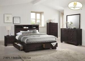 Wooden Bedroom Set with Drawers (MA803)
