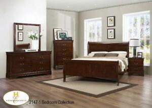 BRAND NEW 8 PC QUEEN SIZE COMPLETE BEDROOM SET 4 COLOR CHOICES
