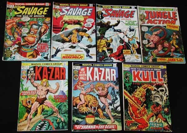 MARVEL SUPER-HERO MIXED LOT 2 - 7 Books