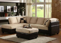 BRAND NEW SECTIONALS ON SALE!!