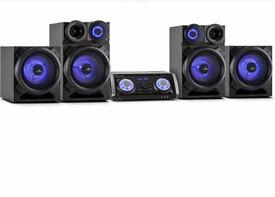 a Party Audio System 720W DVD Bluetooth HDMI AV USB FM AUX