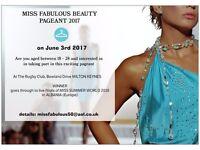 Miss Fabulous Beauty Pageant 2017