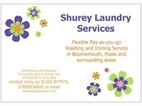 *** Affordable Laundry Service. Washing and/or Ironing in Bournemouth, Poole & Surrounding areas ***