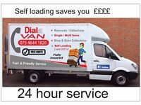Dial a van Removals /Collection's Single / Multi Items Self Loading