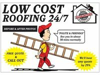 Roofing Repairs (Local Friendly Roofer) 1 Hour Service (Normally There Within 1 Hour) 24/7