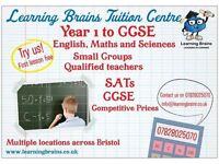Primary and Secondary (English, Maths & Sciences) Tuition
