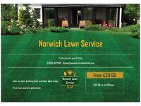 Norwich Lawn Service - Professional grass cutting - No Lawn too big