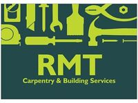 FREE QUOTATIONS 02081508280 / RMT BUILDING & CARPENTRY SERVICES / BESPOKE WARDROBES , LOFTS , ETC