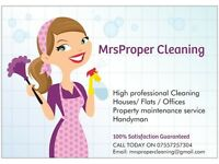 Professional cleaning and property maintenance West Midlands