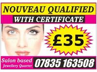 NOUVEAU (UK's No.1) Eyelash Extensions £35