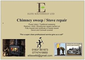 Chimney sweep service