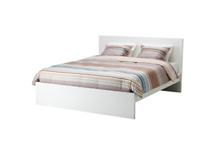 WANTED: MALM Ikea Double/Full Bed Frame in WHITE
