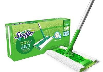 Sweeper Dry & Wet All Purpose Floor Mopping - 1 Mop, 19 Refills