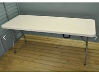 Folding Table 5ft Heavy Duty Extra Strength (180cm)