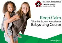 Take a Babysitter Basics Course with St. John Ambulance!