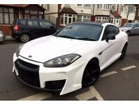 SPECIAL EDITION GT HYUNDAI COUPE SIII 2.0 RARE WHITE MODIFIED HPI CLEAR NOT TSIII RX7 CELICA MR2 RX8