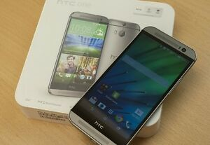 Htc one m8 new unlock with charger and guarantee