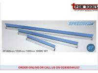 Set of 3 Speedskim® Plastering Rule feather edge 600, 1200, & 1800mm