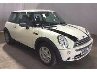 MINI HATCH ONE 1.6 ONE 3d AUTO 89 BHP AUTOMATIC, SERVICE RECORD VERY LOW GENUINE MILEAGE