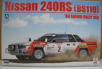 Nissan 240RS (BS110) `84 Safari Rally VER Bausatz AOSHIMA BEEMAX 1:24 NEU