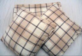 John Lewis Harrow Check Pencil Pleat Curtains