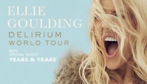 2 x TICKETS to Ellie Goulding on Delirium World Tour on Friday 7.10. Dee Why Manly Area Preview