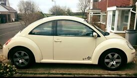 BEIGE VW BEETLE REDUCED PRICE FOR QUICK SALE! FULL SERVICE HISTORY AND RECENT MAJOR SERVICE.