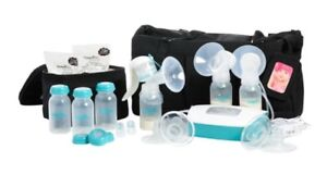 Evenflo Deluxe Plus Electric Double Breast Pump w Shoulder bag